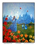 Her Freedom, Blowing Bubbles Picture Art Gifts