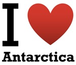 I Love Antarctica Light Tee