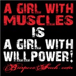 A GIRL WITH WILLPOWER