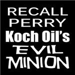 Recall Governor Rick Perry Corporate Minion