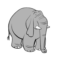 Worried Elephant