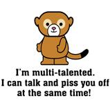 Funny Sarcastic Monkey
