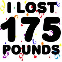 I Lost 175 Pounds!