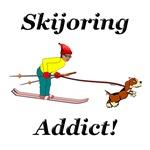 Skijoring Dog Addict