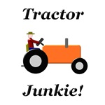 Orange Tractor Junkie