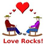 Love Rocks Hearts