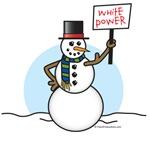 White Snowman Shirts & Gifts