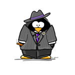 Mobster penguin
