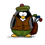 Golf Penguin