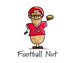 Football Nut (red)