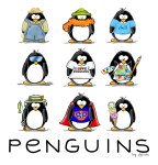 9 Penguins