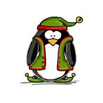 Holiday Elf Penguin