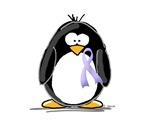 Lavender Ribbon Penguin