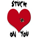 Stuck on you valentine