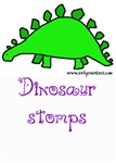 Dinosaur stomps