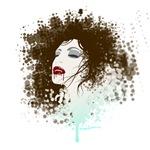 Sexy splatter vampiress
