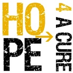 Hope 4 a Cure Appendix Cancer T-Shirts & Gifts