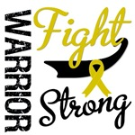 Childhood Cancer Warrior Fight Strong Shirts &amp; Gif