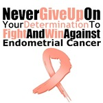 Endometrial Cancer Never Give Up Shirts &amp; Gifts