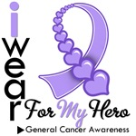 General Cancer Hero Ribbon Shirts &amp; Gifts