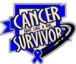 Colon Cancer Survivor Shirts and Gifts
