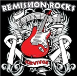 Remission Rocks Bone Cancer Shirts