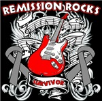 Remission Rocks Brain Cancer Shirts