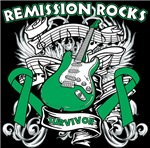 Remission Rocks Liver Cancer Shirts