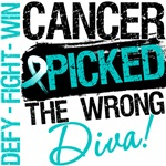 Cervical Cancer Picked The Wrong Diva Shirts