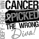 Brain Cancer Picked The Wrong Diva Shirts
