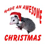Santa Helper Possum