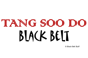 Tang Soo Do Black Belt