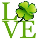 Irish Shamrock Love