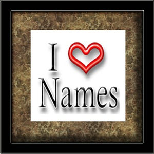 I Heart Peoples Names