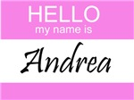 Hello My Name Is Andrea