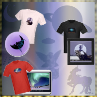 Sci-fi, Fairies,Mythology and Deep Space T-shirts