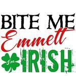 Bite Me Emmett - I'm Irish