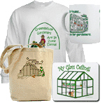 T-shirts & Accessories for Greenhouse Gardeners