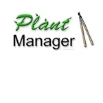 Plant Manager Gardener Shirts & Gifts