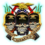 US Navy Seal Team Skulls