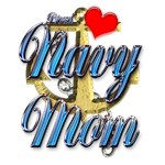 USN Proud Navy Mom