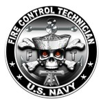 USN Fire Control Technician Skull