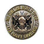 US Navy Diver Metal