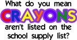 No Crayons?