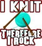 I knit