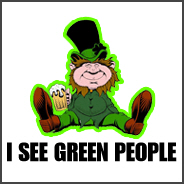 I See Green People St. Patty's Day T-Shirt