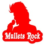 Mullets Rock - Funny Mullet T-Shirt