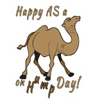 Happy AS A a Camel on Hump Day
