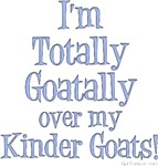 Totally Goatally Kinder Goat