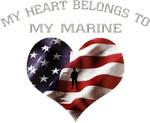 USMC My Heart Belongs